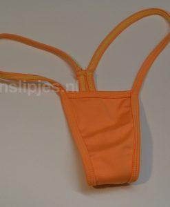 Kleine string oranje